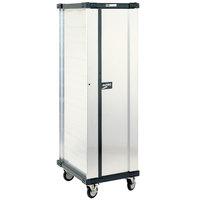 Metro DSC6N 32 Pan End Load Uninsulated Bun / Sheet Pan Rack / Delivery / Storage Cabinet Enclosed with Lockable Door - Assembled
