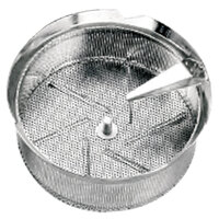 Tellier M5015 1/16 inch Perforated Replacement Sieve for # 5 Food Mill - Tin-Plated Steel