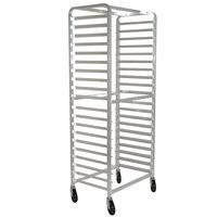 Advance Tabco PR20-3WS 20 Pan Side End Load Bun / Sheet Pan Rack - Assembled