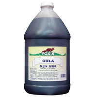 Fox's Cola Slush Syrup - (4) 1 Gallon Containers / Case