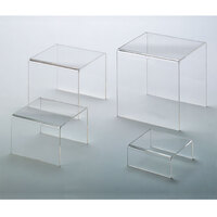American Metalcraft CRS2 Clear Acrylic Riser Set