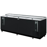 Turbo Air TBC-95SB Black 95 inch Bottle Cooler