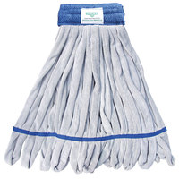 Unger ST45B 16 oz. Blue Heavy Duty Microfiber String Mop Head