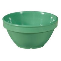 GET BC-170-FG Diamond Mardi Gras 8 oz. Rainforest Green Melamine Bowl - 48 / Case