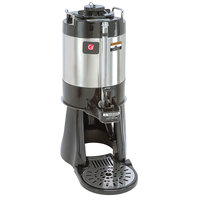 Grindmaster VS-1.0S 1 Gallon Stainless Steel Coffee Shuttle with Attached Stand