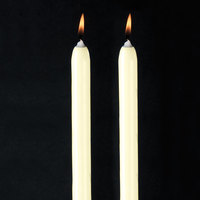 Will &; Baumer 15 inch Ivory Chace Candle - 2/Pack