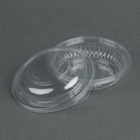 Dart Solo C8BCD PresentaBowls 8 oz. Clear Plastic Bowl with Dome Lid - 252 / Case