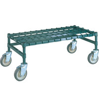 Metro MHP55K3 48 inch x 24 inch x 14 inch Heavy Duty Mobile Metroseal 3 Dunnage Rack with Wire Mat - 800 lb. Capacity