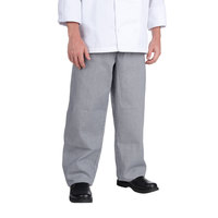 Chef Revival P004HT Size 4X Houndstooth EZ Fit Chef Pants - Poly-Cotton