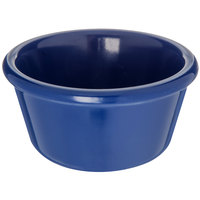 Carlisle S28060 3 oz. Smooth Cobalt Blue Melamine Ramekin - 48/Case