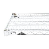 Metro A2436NC Super Adjustable Chrome Wire Shelf - 24 inch x 36 inch