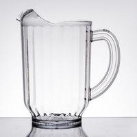 Carlisle 554007 VersaPour 60 oz. Clear Polycarbonate Beverage Pitcher