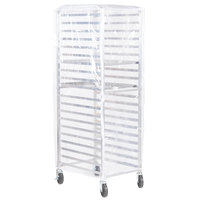 Clear Vinyl Bun Pan Rack Cover - 2.3 Mils