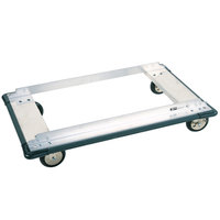 Metro D53MN Aluminum Truck Dolly with Wraparound Bumper and Polyurethane Casters 24 inch x 36 inch