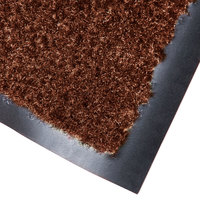 Cactus Mat 1437R-CB4 Catalina Standard-Duty 4' x 60' Chocolate Brown Olefin Carpet Entrance Floor Mat Roll - 5/16 inch Thick