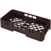 Cambro HBR258167 Brown Camrack Half Size Open Base Rack