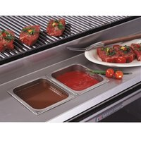 Bakers Pride 21844521 Ultimate Outdoor Charbroiler Stainless Steel Rear Work Deck