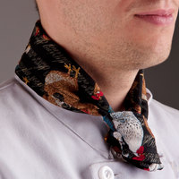 36 inch x 15 inch Rooster Patterned Neckerchief / Bandana