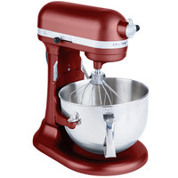 KitchenAid KP26M1XGC Gloss Cinnamon Professional 600 Series 6 Qt. Countertop Mixer