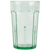 Cambro LT8427 8 oz. Spanish Green Laguna Customizable Plastic Tumbler - 36/Case