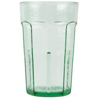 Cambro LT8427 8 oz. Spanish Green Laguna Customizable Plastic Tumbler - 36 / Case