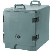 Cambro 300MPC401 Camcarrier Slate Blue Front Loading Insulated Food Pan Carrier with Handles