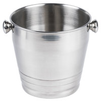 8 1/4 inch Stainless Steel Wine / Champagne Bucket Heavy Weight