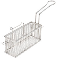 Star 530TBR 11 1/4 inch x 4 inch x 5 inch Twin Fryer Basket with Right Hook