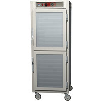Metro C569-NDC-L C5 6 Series Full Height Reach-In Heated Holding Cabinet - Clear Dutch Doors