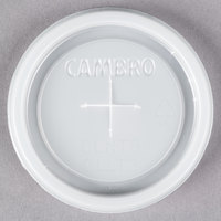 Cambro CLNT5 Disposable Translucent Lid with Straw Slot for Cambro NT5 Newport 6.4 oz. Tumblers - 1500/Case