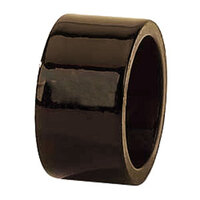 Tabletop Classics AC-6512BR Brown 1 3/4 inch Round Acrylic Napkin Ring