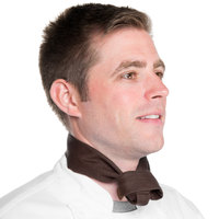 37 inch x 14 inch Brown Chef Neckerchief / Bandana