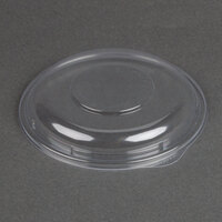Dart Solo C64BDL Clear Plastic Dome Lid for PresentaBowl Clear Plastic Bowl - 252 / Case