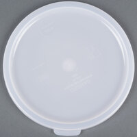 Cambro RFSC2148 2, 4 Qt. White Round Lid