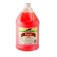 Fox's Orangeade Concentrate - (4) 1 Gallon Containers / Case