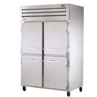 True STG2R-4HS Specification Series 52 inch Two Section Solid Half Door Reach In Refrigerator - 56 Cu. Ft.