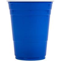 Dart Solo P16B Blue 16 oz. Plastic Cup - 50/Pack
