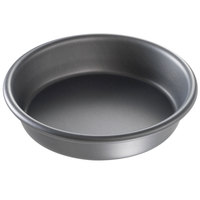 Chicago Metallic 91060 6 inch x 1 1/2 inch Deep Dish Hard Coat Anodized Aluminum Pizza Pan