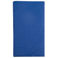 Hoffmaster 180522 Navy Blue 15 inch x 17 inch Paper Dinner Napkins 2-Ply - 125 / Pack