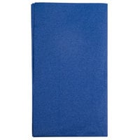 Hoffmaster 180522 Navy Blue 15 inch x 17 inch Paper Dinner Napkins 2-Ply - 125/Pack