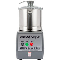 Robot Coupe Blixer 3 Food Processor with 3.5 Qt. Stainless Steel Bowl and Single Speed - 1 1/2 hp