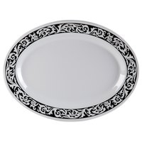 GET OP-618-SO 18 inch x 13 1/2 inch Oval Soho Platter - 12/Case