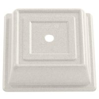 Cambro 85SFVS101 Versa Camcover 8 1/2 inch Antique Parchment Square Plate Cover - 12/Case