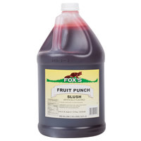 Fox's Fruit Punch Slush Syrup - (4) 1 Gallon Containers / Case