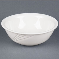 CAC GAD-81 Garden State 42 oz. Bone White Porcelain Bowl - 12/Case