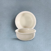 CAC REC-42 6 oz. Rolled Edge American White (Ivory / Eggshell) China Bowl 48 /Case