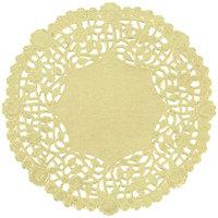 5 inch Gold Foil Doily - 1000/Case