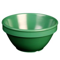8 oz. Green Smooth Melamine Bouillon Cup - 12/Case