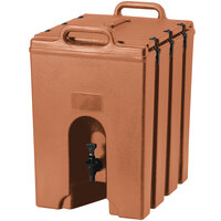 Cambro 1000LCD157 Camtainer 11.75 Gallon Tan Insulated Beverage Dispenser