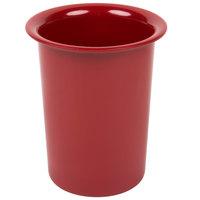 Cal-Mil 1017-64 Solid Cranberry Melamine Cylinder